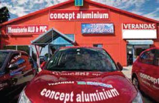 Concept Aluminium - Menuiseries Alu PVC et Vérandas